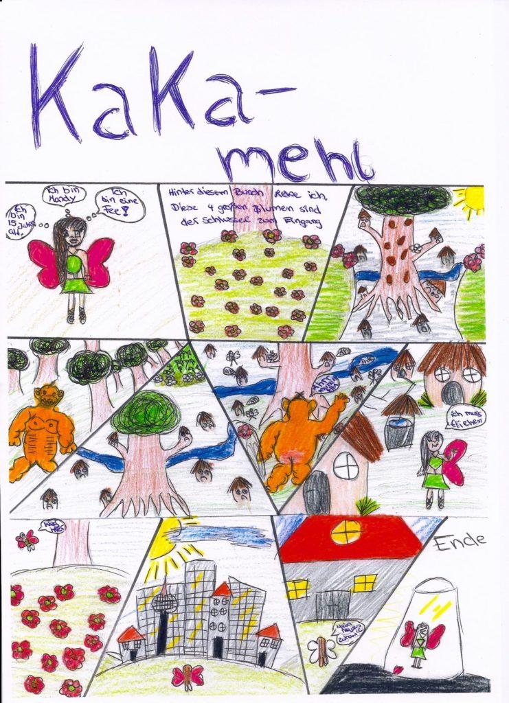 Comics Im Kunstunterricht Fritz Karsen Schule